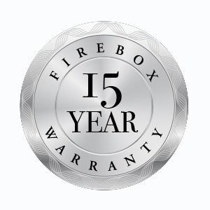 Jayline wood fire 15 year warranty logo